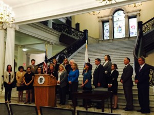 As a member of the Governor's Council on Sexual Assault and Domestic Violence, I was privileged to stand with fellow council members at the Grand Staircase of the Statehouse as Lt. Gov. Karyn Polito proclaimed October as Domestic Violence Awareness Month.