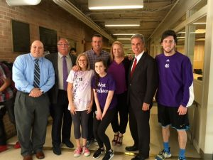 West Boylston Middle with Chris Herren