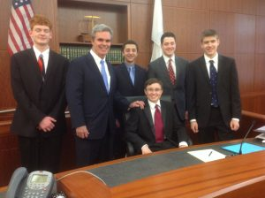 Westborough High mock trial team
