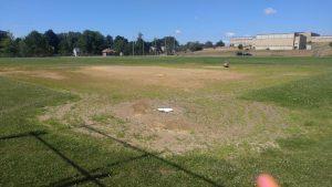 Softball -- before