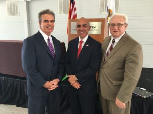 DA Early with San Bernardino Michael Ramos and Essex DA Jonathan Blodgett.
